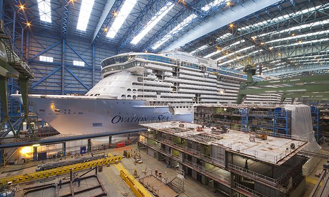 Dagtocht Meyer Werft in Papenburg afbeelding 1