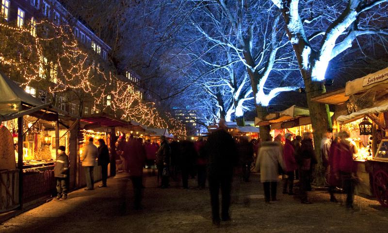 Schoolreis Bremen kerstmarkt