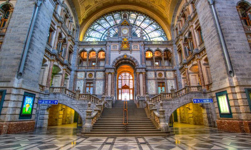 Schoolreis Antwerpen België