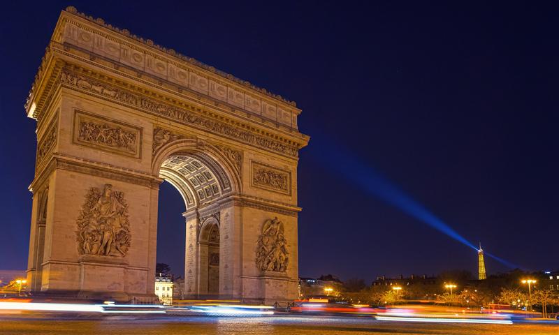 Schoolreis Arc de Triomphe