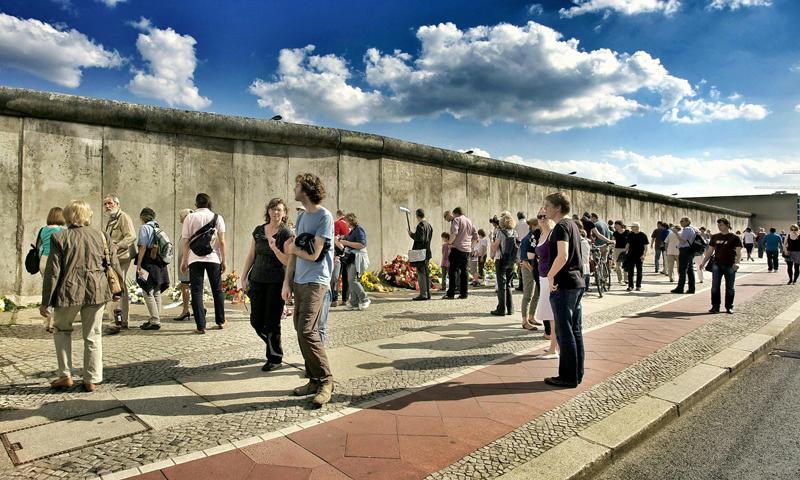 Schoolreis Berlijnse Muur