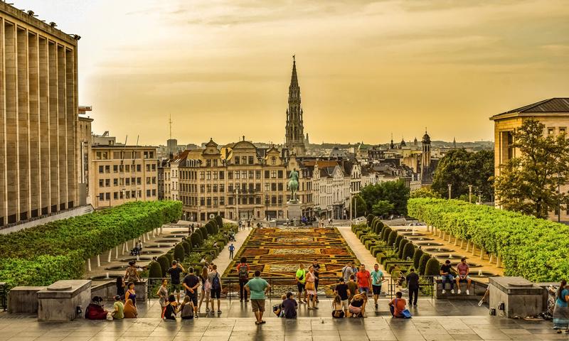 Schoolreis Brussel