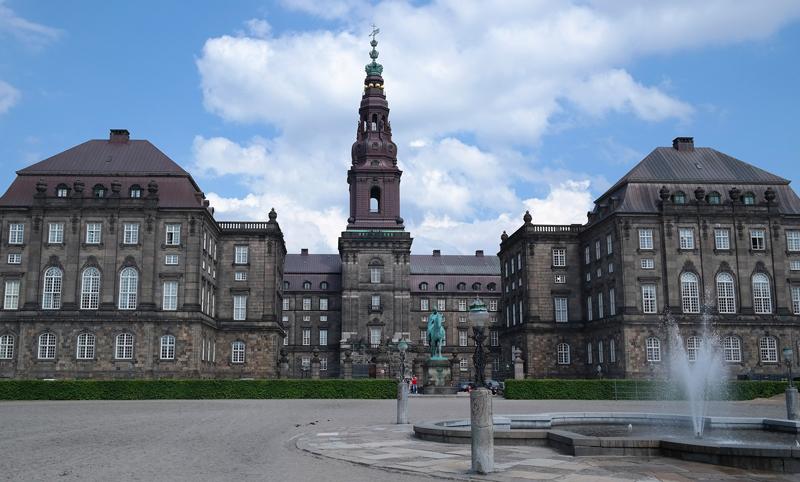 Schoolreis Christiansborg Kopenhagen