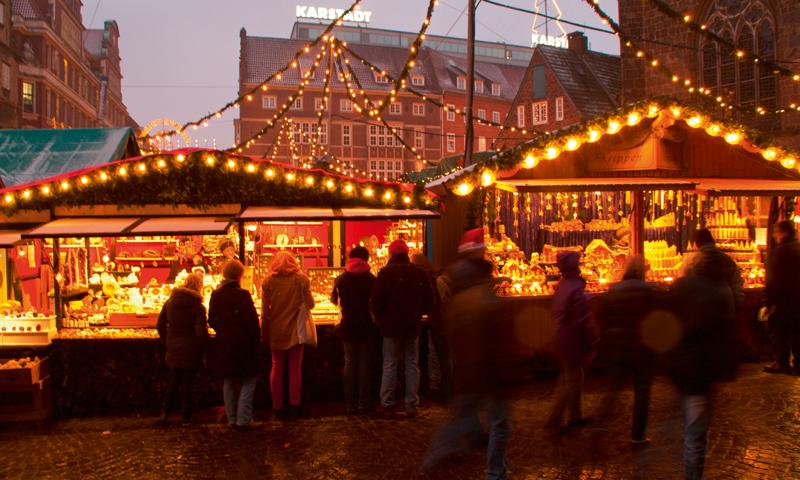 Schoolreis Kerstmarkt Bremen