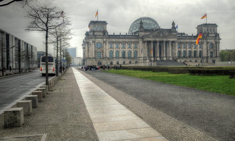 Schoolreis Reichstag Berlijn