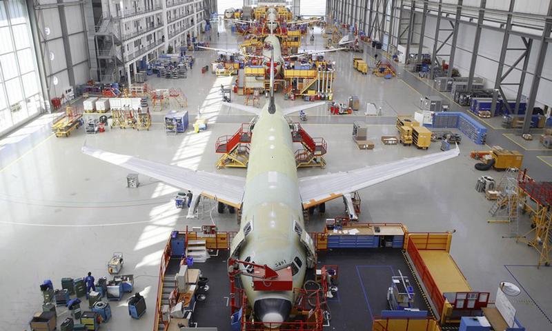 Schoolreis techniek Airbus