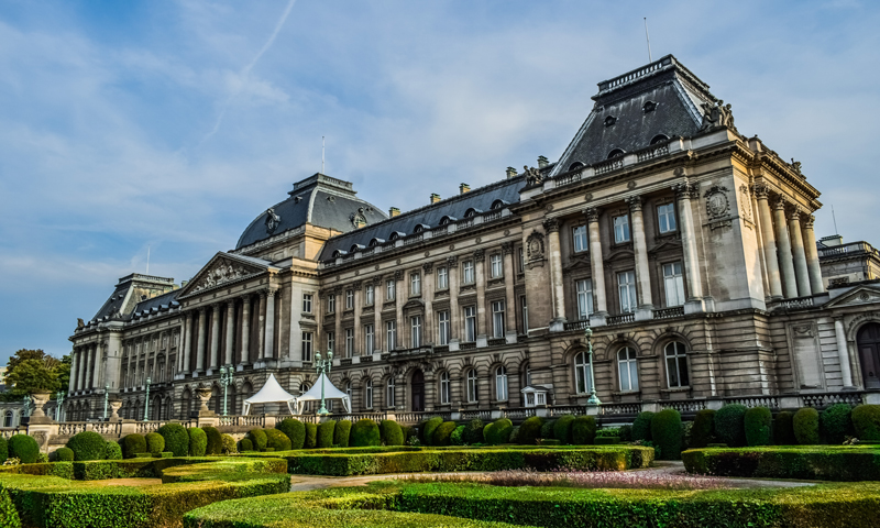 Schoolreis paleis Brussel