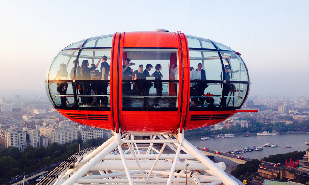 Studentenreis London Eye