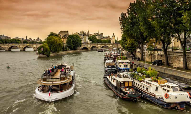 Studentenreis rondvaart Parijs