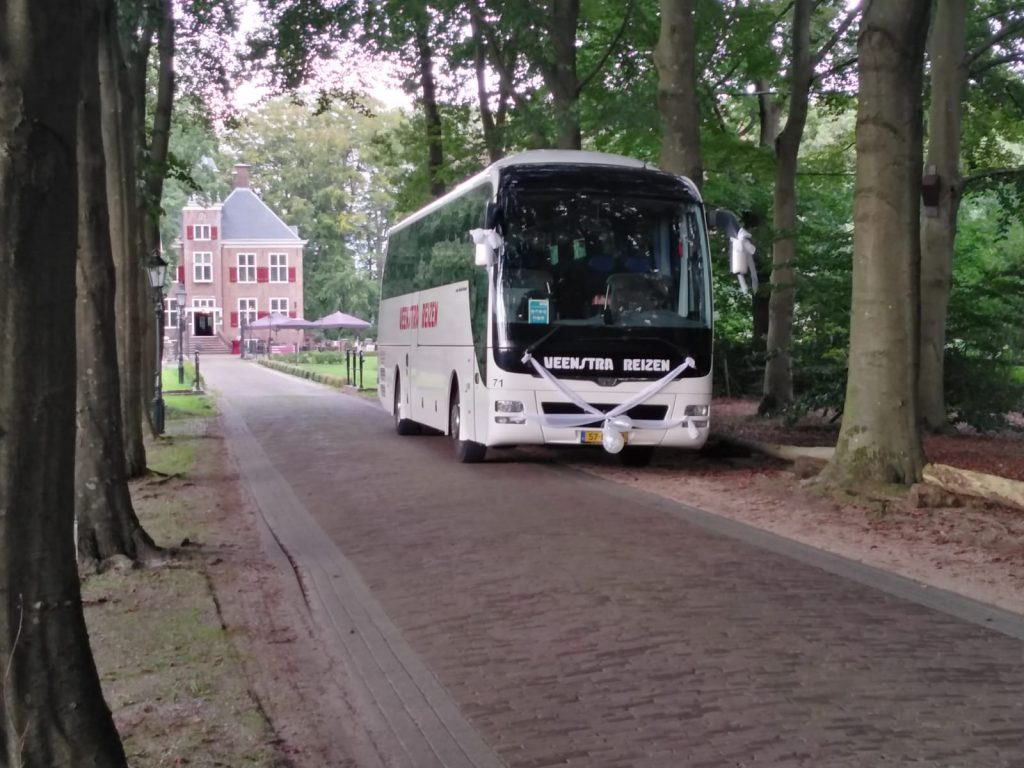 Luxe bus huren met Veenstra Reizen