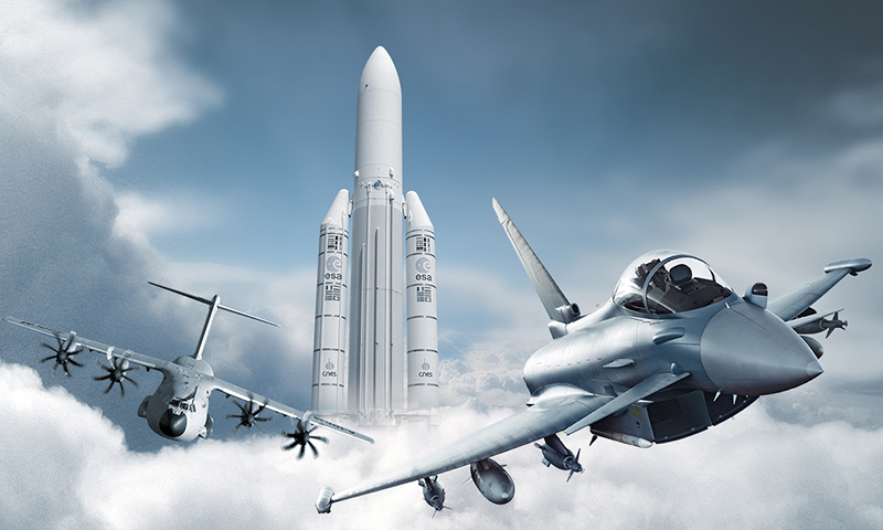 Dagtocht airbus defence space