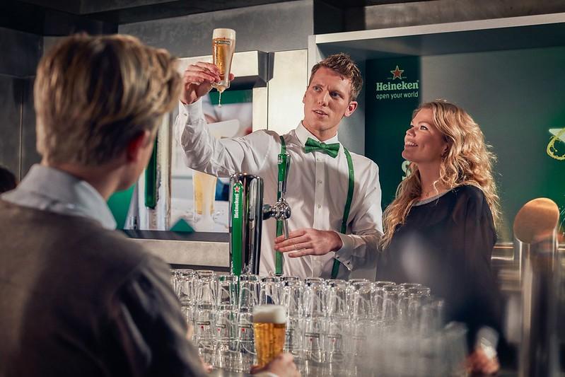 Personeelsuitje Heineken Experience met Veenstra Reizen
