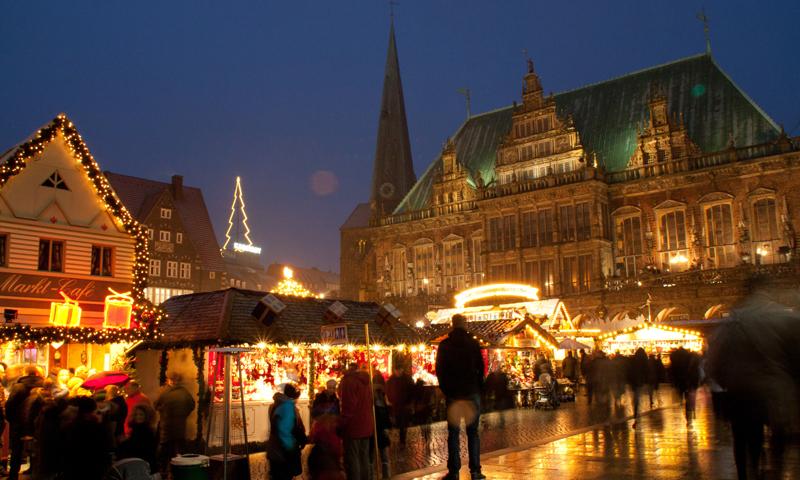 Busreis Kerstmarkt Bremen met Veenstra Reizen