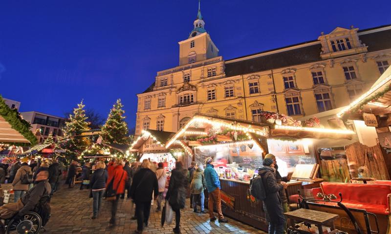 Kerstmarkt Oldenburg met Veenstra Reizen