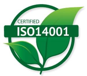 Logo ISO 14001 Veenstra Reizen