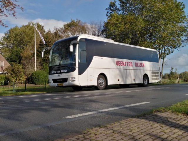 Bus met chauffeur