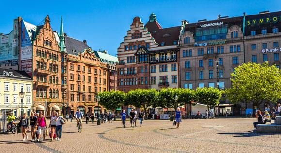 Malmo Zweden wandelreis
