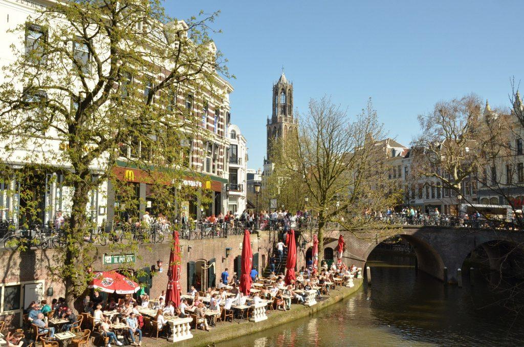 Utrecht tijdens personeelsuitje met Veenstra Reizen